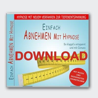 Einfach Abnehmen mit Hypnose  [Download]