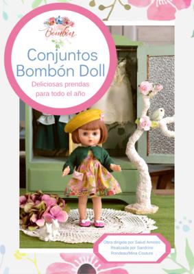 Libro en pdf de patrones Equipo completo muñeca Bombón (para descargar)