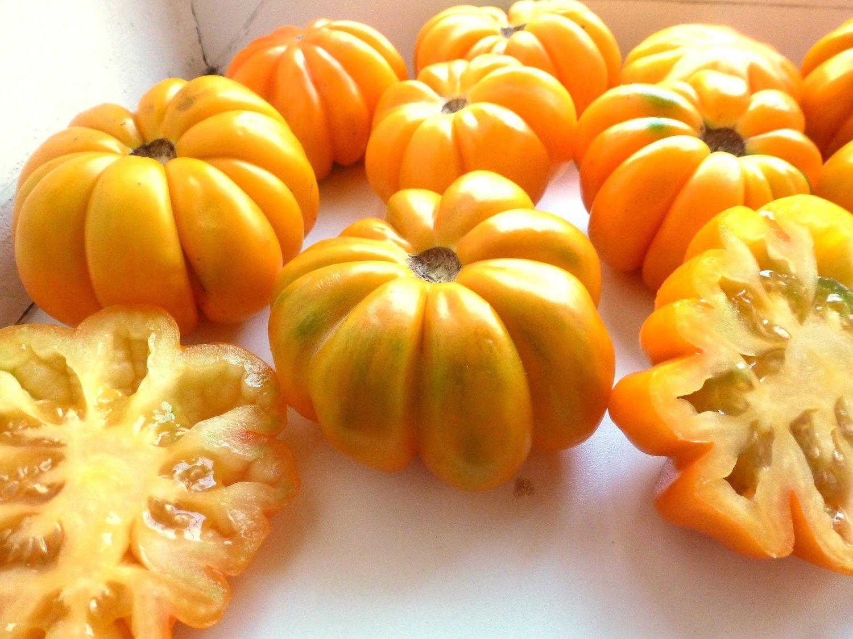 Помидоры Beauty Lottringa Оrange - Лотарингская Красавица Оранжевая