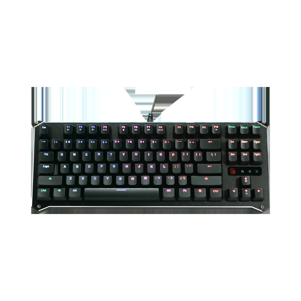 B930 Ergonomic TKL Light Libra Strike Optical Gaming Keyboard test