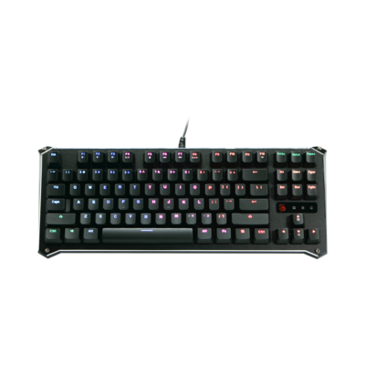 B930 Ergonomic TKL Light Libra Strike Optical Gaming Keyboard test