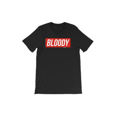 Bloody Short Sleeve T-Shirt Fashion Tee