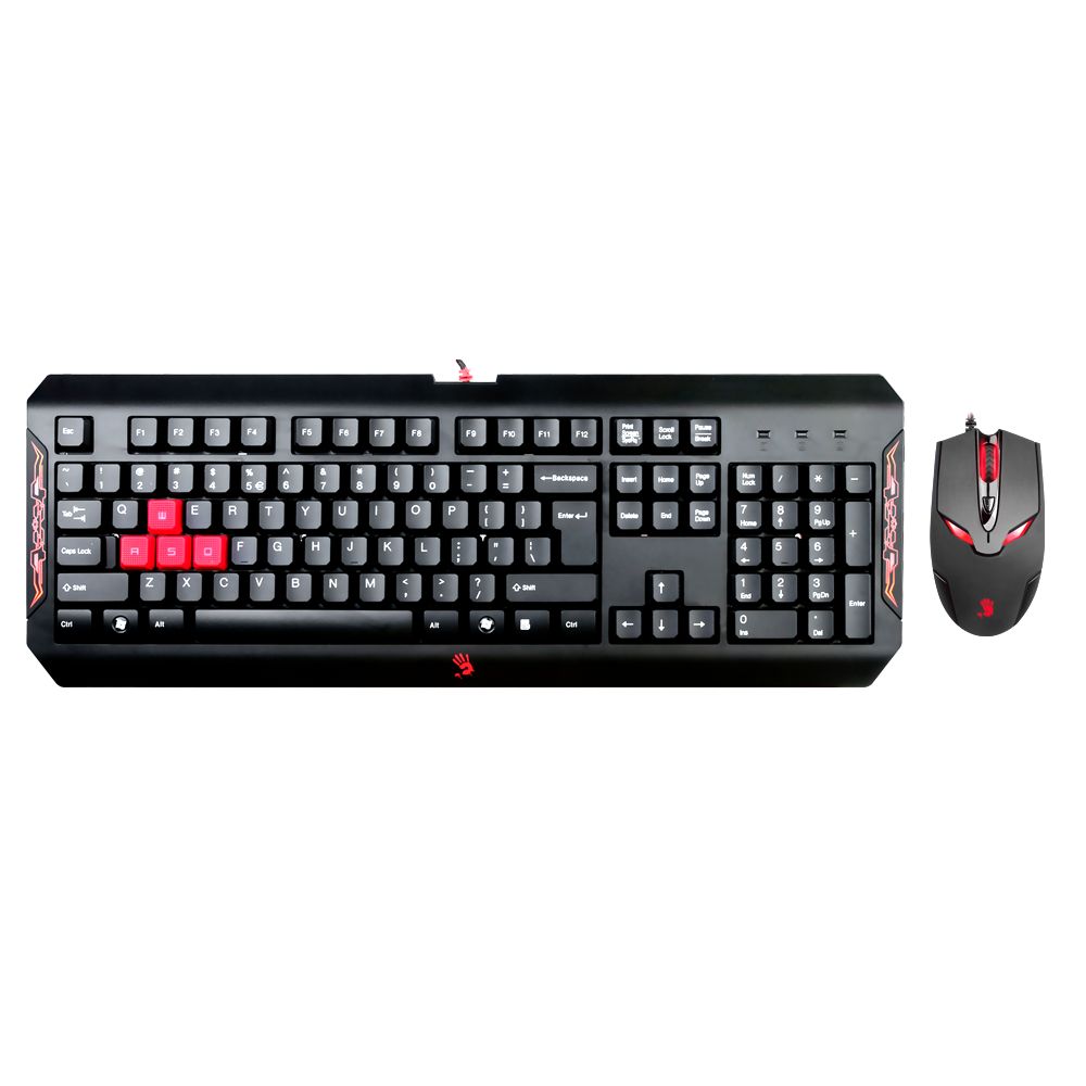 Q1100 Keyboard + V4 - Bundle