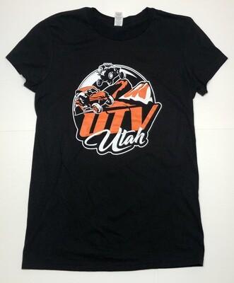 UTV Utah Women's T-Shirt (Large Front Logo)