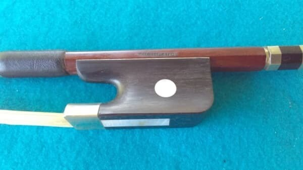 Brazilwood 3/4 Double Bass Bow - French Style