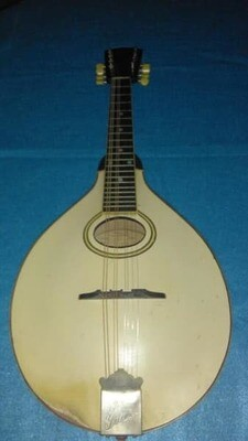 Gibson Mandolin, A-3, Rare Vintage 1919 - Ivory White Carved Top