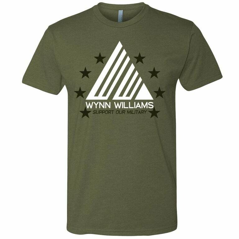 Support Our Military Tee
