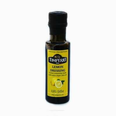 Lemon flavored extra virgin olive oil 100 ml