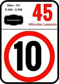 Automatic 10 Lessons of 45 minutes