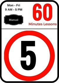 Manual 5 Lessons of 60 minutes