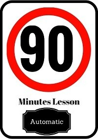 Automatic driving lesson 90 minutes