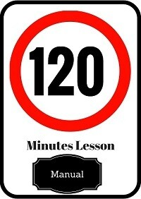 Manual driving lesson 120 minutes