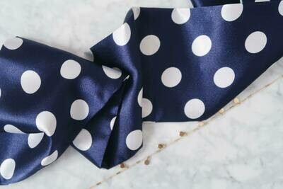 Headband Navy Blue