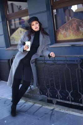 Wool coat Mrs Grey
