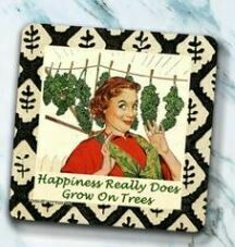Happiness Grows Coaster By High Cotton