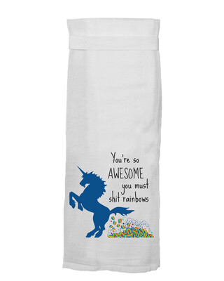 You're So Awesome Kitchen Towel by Twisted Wares
