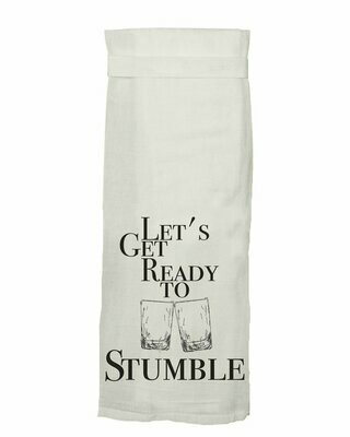 Get Ready to Stumble Hand Towel By Twisted Wares