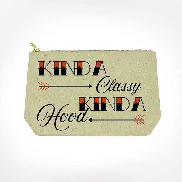 Kinda Classy Makeup Bag By Twisted Wares
