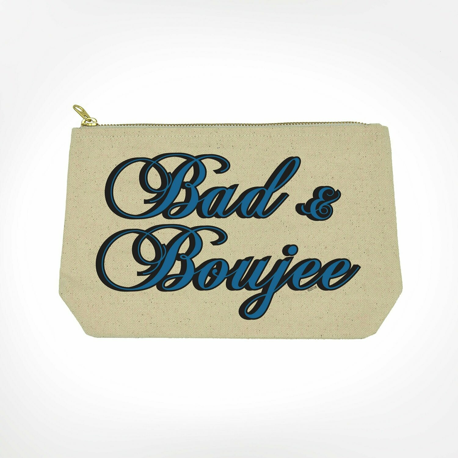 Bad & Boujee Make-Up Bag By Twisted Wares