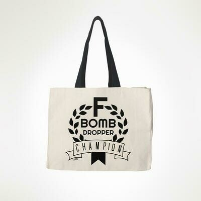 F Bomb Tote By Twisted Wares