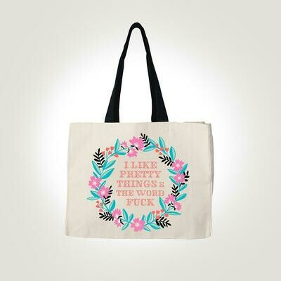 Pretty F#%k Tote By Twisted Wares