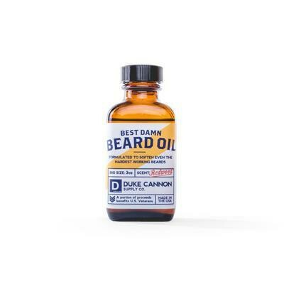 Best D*** Beard Oil By Duke Cannon