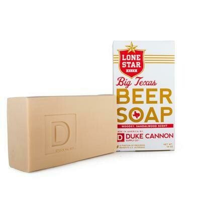 Big Texas Beer Soap By Duke Cannon