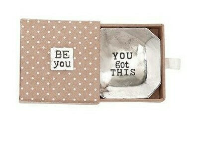 'You Got This' Metal Dish By Mudpie