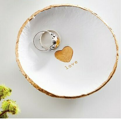 Love Trinket Dish By Mudpie
