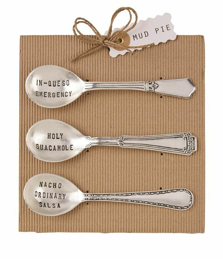 Salsa Spoon Set by Mud Pie