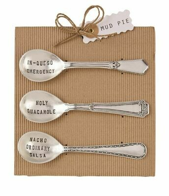 Salsa Spoon Set by Mud Pie