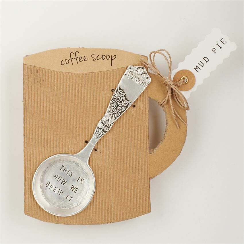 Brew It Coffee Scoop by Mud Pie
