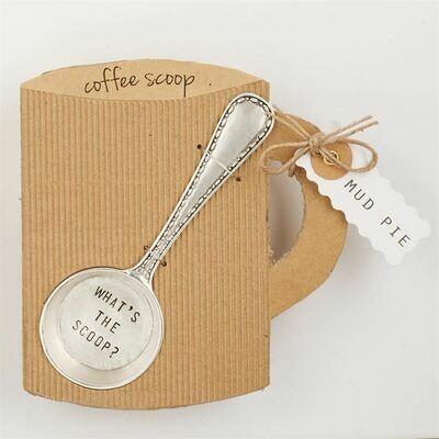 'What's the Scoop' Coffee Scoop by Mud Pie