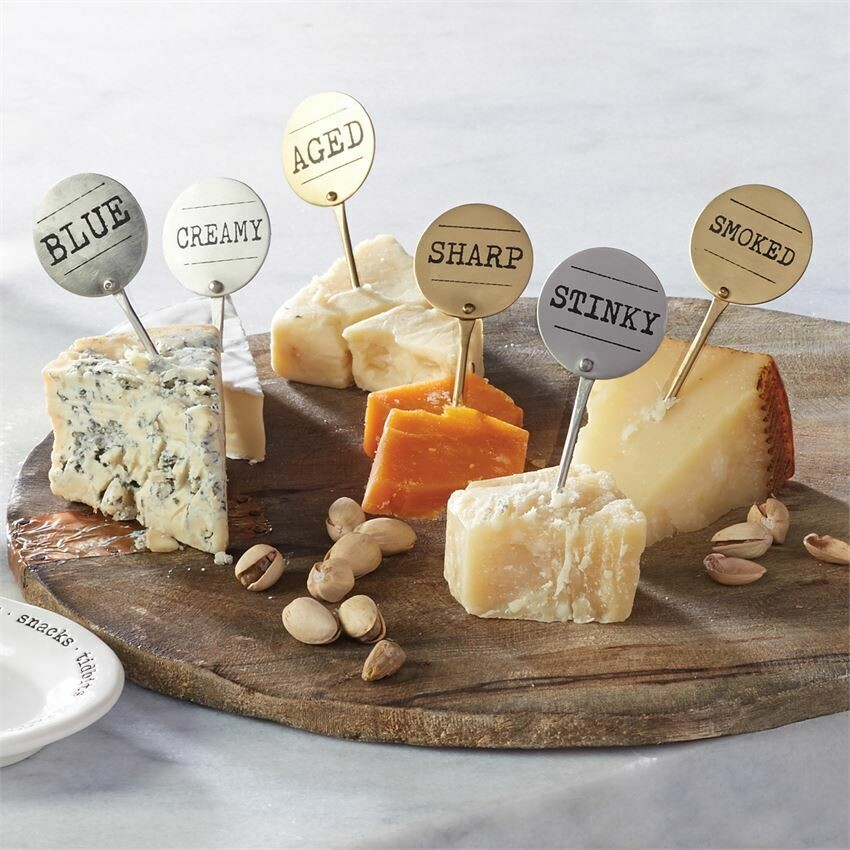 Cheese Markers By Mudpie