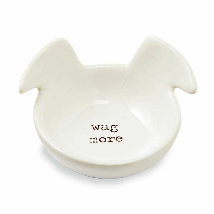 Wag More Trinket Dish By Mud Pie