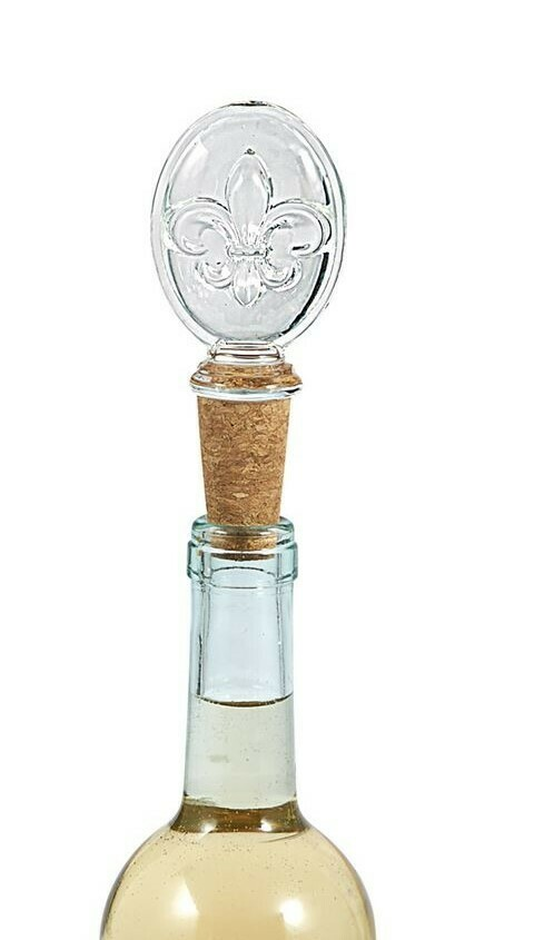 Fleur De Lis Bottle Topper By Mudpie