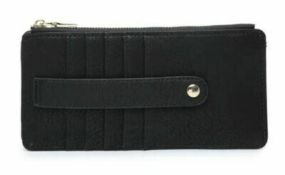 Black Wallet By Jen & Co