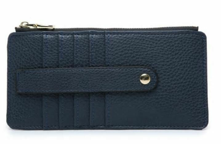Navy Wallet By Jen & Co