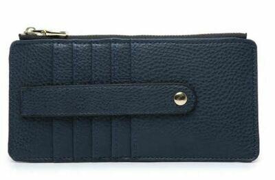 Navy Wallet By Jen & Co