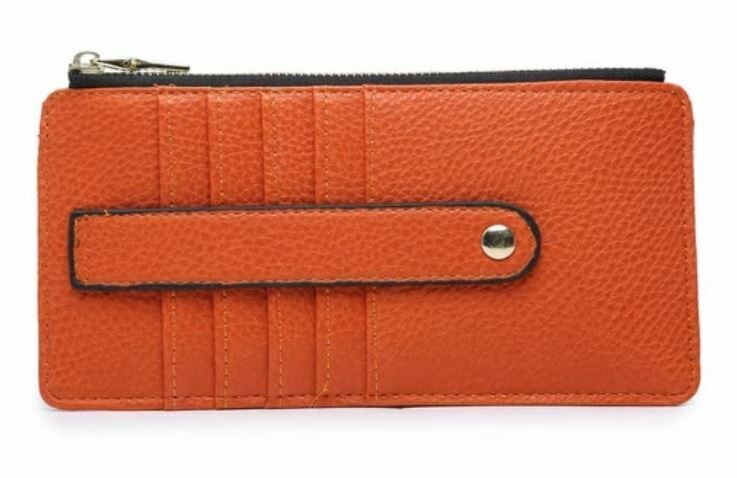 Orange Wallet By Jen & Co