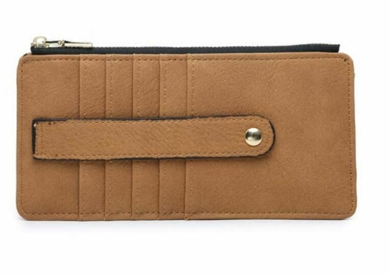 Tan Wallet By Jen & Co