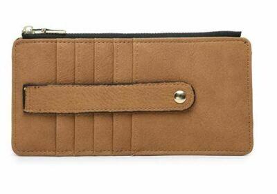 Tan Wallet By Jen & Co