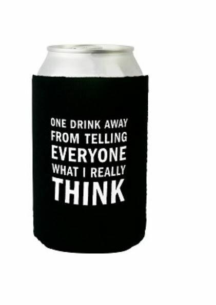 One Drink Koozie By Snark City
