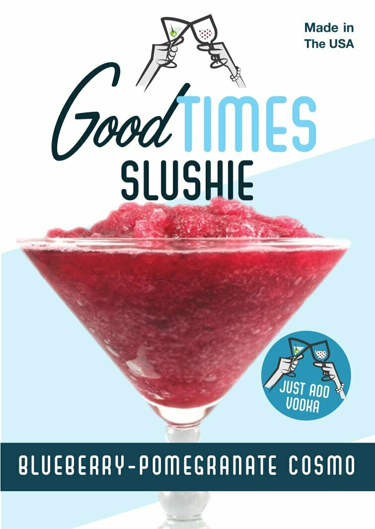 Blueberry-pomegranate Cosmo Slushie Mix By Good Times