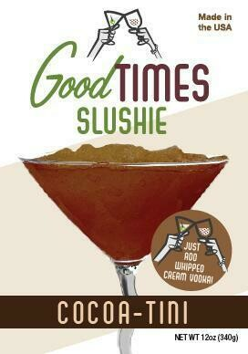 Cocoa-tini Slushie By Good Times