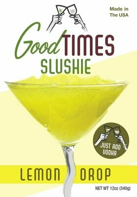 Lemon Drop Slushie By Good Times