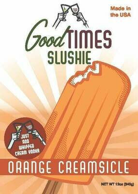Orange Creamsicle Slushie By Good Times
