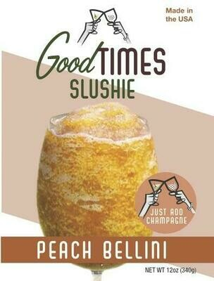 Peach Bellini Slushie By Good Times