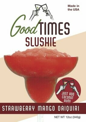 Strawberry Mango Daiquri Slushie By Good Times