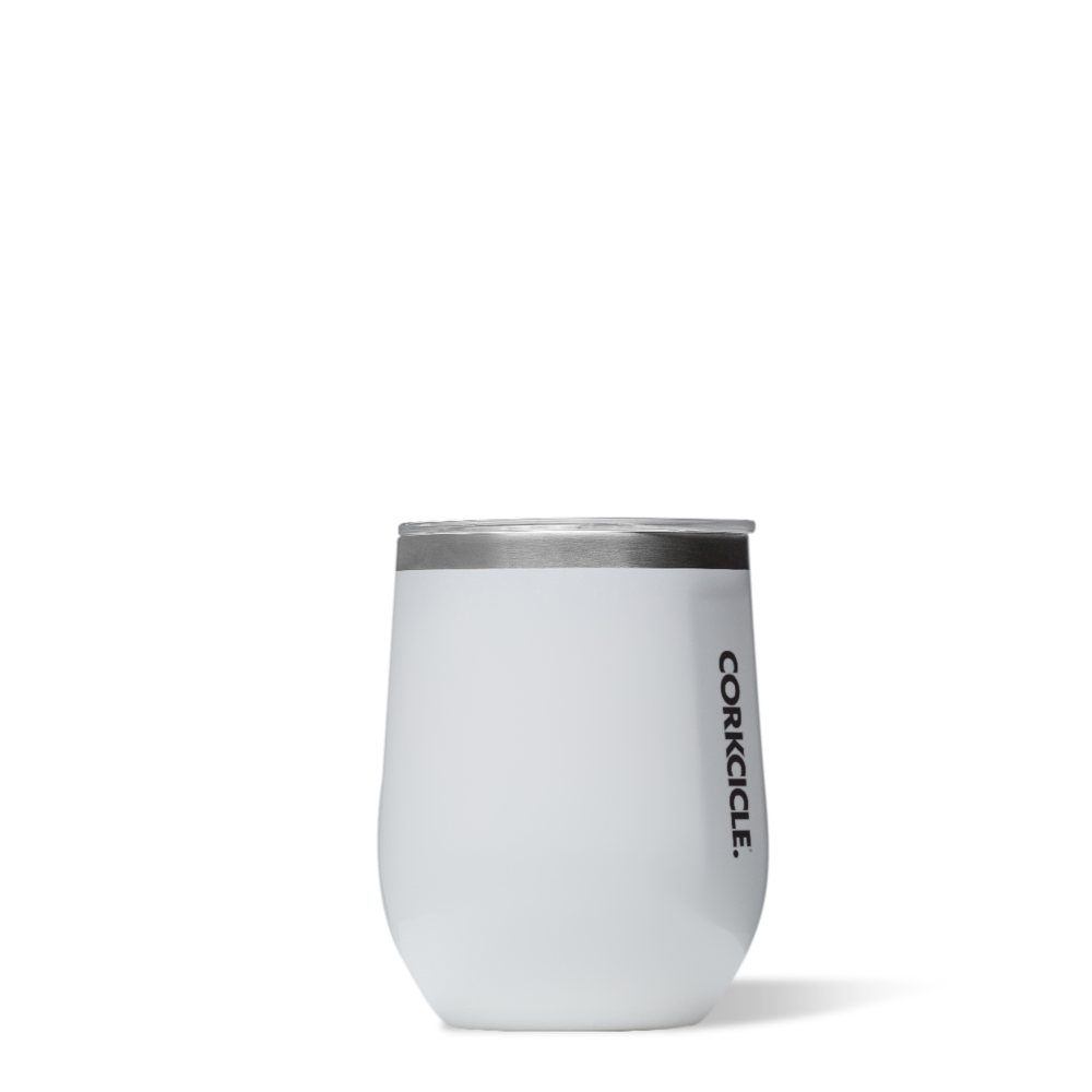 Gloss White Stemless Tumbler by Corkcicle